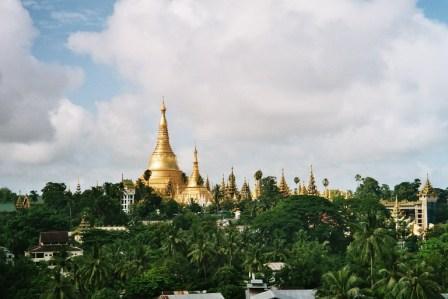 Shwedagon Pagoda Yangoon