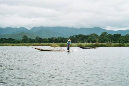 Pécheur sur le Lac Inle