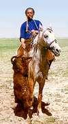 Buskashi en Ouzbekistan