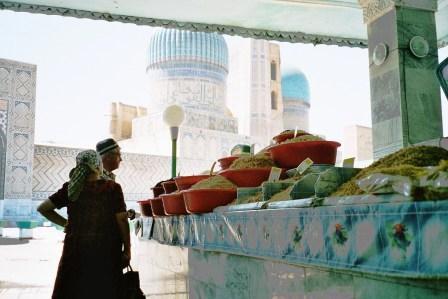 Bazar Samarkand