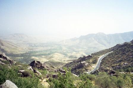 Route Samarkand-Shakhrisabz
