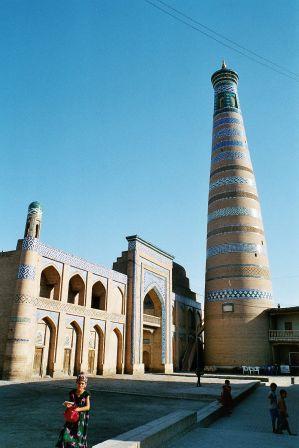 Medersa et minaret Islan Khodja Khiva